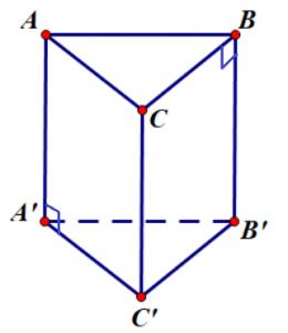 Lăng trụ đứng hình tam giác