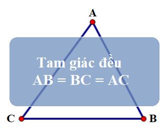 Công thức tính chu vi tam giác đều