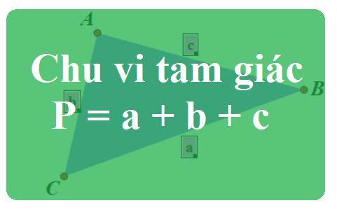 Chu vi tam giác